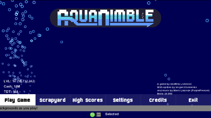 aquanimble_title_screen